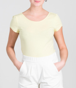 Ballerina Shirt ALOE lemon - JAN N JUNE