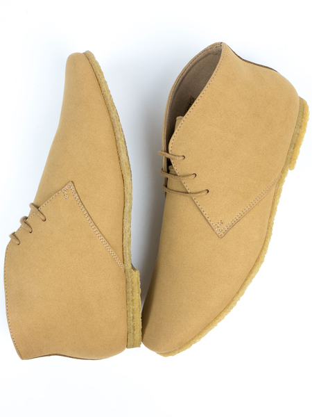Crepe Sole Desert Boots Veganes Wildleder Herren