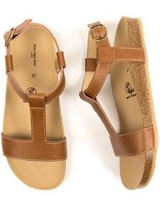 Sandalen mit Fußbett Damen - Will's Vegan Shop