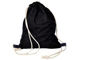 Unikat: Gymbag Auf Zack - Turnbeutel aus Jeans - Second Hound