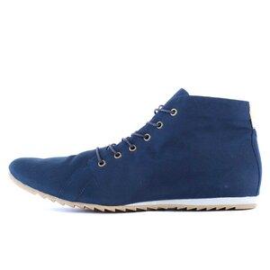 '66 veganer Sneaker aus Bio-Baumwolle Classic Blue - SORBAS