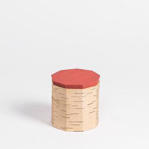 Kaffeedose / Vorratsdose aus Birkenrinde - Tuesa T9: ø12x12cm - MOYA Birch Bark