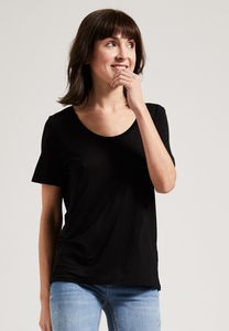 Damen Rundhals T-Shirt, 100% Tencel T-Shirt  - PHYNE