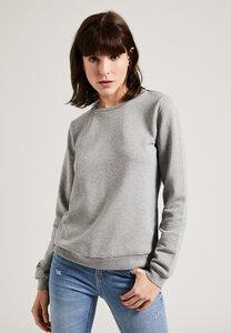 Damen Sweatshirt aus Biobaumwolle, GOTS, mit Rundhals Ausschnitt - PHYNE