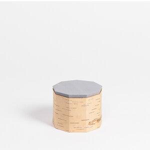 Teedose / Vorratsbehälter aus Birkenrinde - Tuesa TN9: ø12x9cm - MOYA Birch Bark