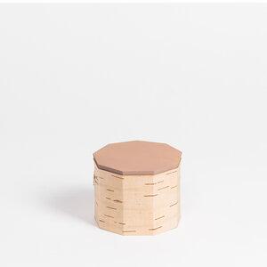 Teedose / Vorratsdose aus Birkenrinde - Tuesa TN9: ø12x9cm - MOYA Birch Bark