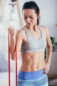 Fitness- und Yogaband aus fair gehandeltem Latex - Fairzone