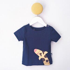Kinder T-Shirt mit Giraffe - internaht
