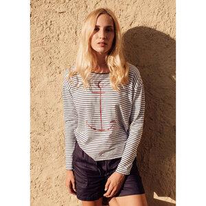 Damen Langarm-Shirt Anker  - recolution