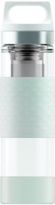 Thermo-Trinkflasche Hot & Cold Glass 0,4l - SIGG