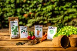 """Bio-Saatgut-Set """"Salat und Wurzeln"""" (Demeter-Qualität) - Rankwerk"""