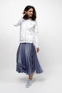 HEDERA, Nachhaltiger Kapuzen Sweater mit Zip für Frauen - Green-Shirts