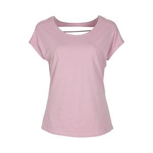 ROSIE - Damen - lockeres Shirt mit Rückenausschnitt für Yoga und Freizeit aus Biobaumwolle - Jaya