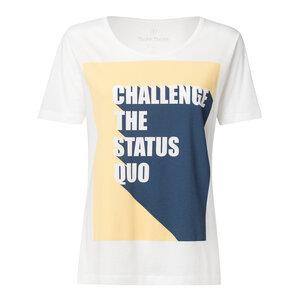 Damen T-Shirt Status Quo Weiß - THOKKTHOKK
