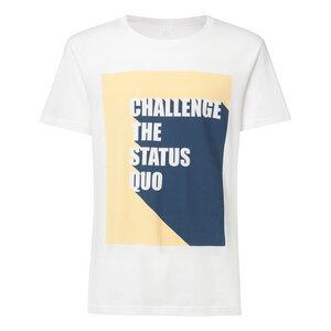 Herren T-Shirt Status Quo Weiß - ThokkThokk