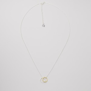 Kette 'bicolor circle'  - fejn jewelry
