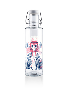 "soulbottle 0,6l • Trinkflasche aus Glas • ""Mother of Oceans""  - soulbottles"