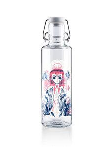 """soulbottle 0,6l • Trinkflasche aus Glas • """"Mother of Oceans""""  - soulbottles"""