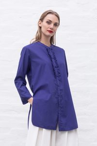 Roxanna ruffle shirt - ETICLO'
