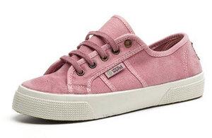 Vegan Damen Sneaker washed - Old Blossom - natural world