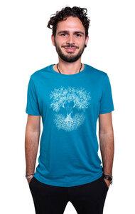 Fairwear Modal Shirt Men Ocean Blue Fusion - Life-Tree
