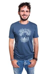 """Bambus Shirt Fairwear für Herren """"Fusion"""" in Denim Blue - Life-Tree"""