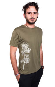 Fairwear Bambus Shirt Men Moss Green Kiefer - Life-Tree