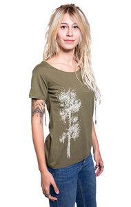 "Bambus Shirt Fairwear für Damen ""Kiefer"" in Moss Green - Life-Tree"