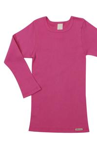 Fairtrade Natur Kinder Shirt langarm - comazo earth