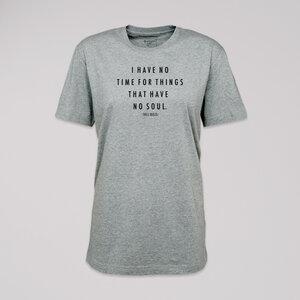 "T-Shirt ""Bukowski"", 100% Bio-Baumwolle, Eco-Print - ethicted"
