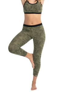Fairtrade Yoga Hose 7/8 lang - comazo|earth
