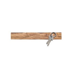 Schlüsselbrett Magnetleiste für Messer Olivenholz geölt 250, 350 oder 550 mm - NATUREHOME
