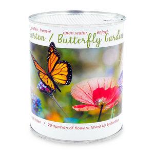 Schmetterlinggarten mit 30 verschiedene Blumensorten - Schmetterlinge - MacFlowers