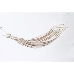 Einzelhängematte 100% Baumwollgewebe | Tragkraft 150 kg | 300x130 cm - 4betterdays