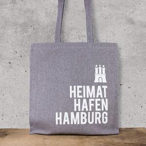 Baumwoll-Beutel Heimathafen Hamburg - Bow & Hummingbird