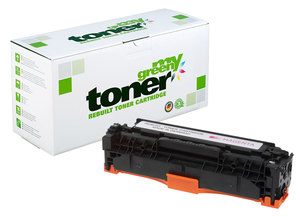 my green toner für HP CE 411 A (cyan), 412 A (yellow), 413A (magenta) - my green toner