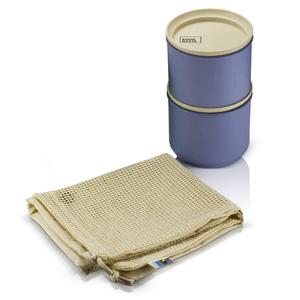 AVOID WASTE - Unverpackt Einkaufen Set (Vorratsdosen und Einkaufsnetz) - avoid waste