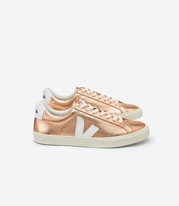 Sneaker Damen - Esplar Low Logo Leather - Venus White - Veja