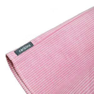 Elegantes raffiniertes Babykleid (jeansblau od. flamingo-rosé) (54552) - carl&lina