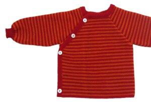 Baby Kinder Pullover  Ringel-Schlüttli  - Reiff
