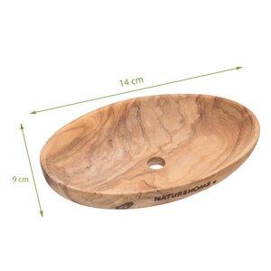 Seifenschale aus Olivenholz verschiedene Formen - NATUREHOME