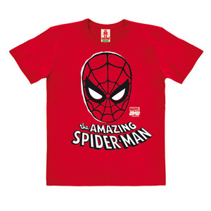LOGOSHIRT - Marvel Comics - Spider-Man - Maske - Kinder - Bio T-Shirt  - LOGOSH!RT