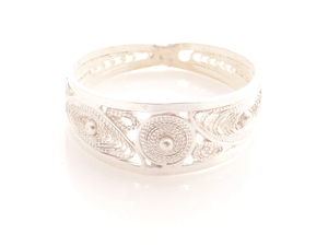 Ring drei Ovale Silber - Filigrana Schmuck