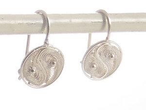 Ohrringe Yin Yang Silber - Filigrana Schmuck