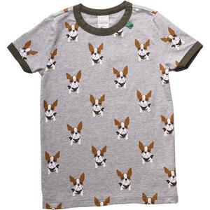 """Green Cotton""  T-Shirt  Hund - Green Cotton"