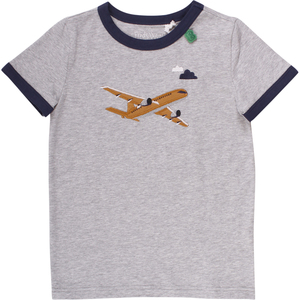 """Green Cotton""  T-Shirt  Flugzeug - Green Cotton"