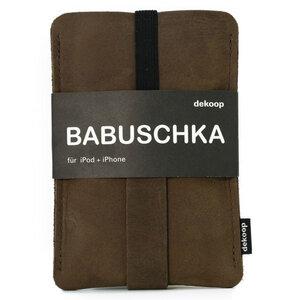 Leder iPhone Hülle Babuschka - Dekoop