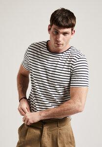 Gestreiftes Herren T-Shirt aus Biobaumwolle, GOTS - PHYNE