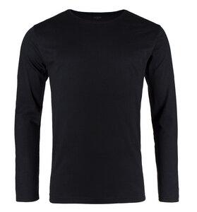 Pure Waste - Herren Long Sleeve T-Shirt, Black - Pure Waste