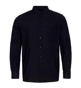 Pure Waste - Unisex Hemd, Black - Pure Waste
